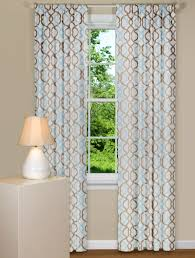 blue and brown curtains at best office chairs home decorating tips