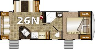 keystone travel trailer floor plans 2018 northwood nash 26n new t37702