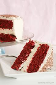 red velvet cheesecake cake taste and tell