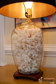 White Ceramic Bedroom Lamps Lamps Chic Ginger Jar Lamps For Unusual Table Lighting Ideas