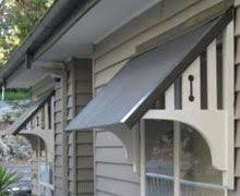 diy window awning wood bracket home projects wood