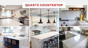 quartz kitchen countertop ideas 55 best kitchen countertop ideas for 2018