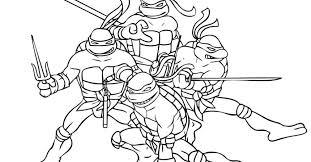 teenage mutant ninja turtles coloring pages gekimoe u2022 3163