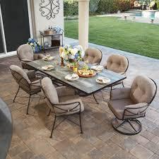 ow lee cambria 7 piece patio dining set ow cambria set3