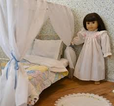 Victorian Canopy Bed American Canopy Bed Canopy Doll Bed Victorian Antique
