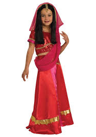 Girls Bollywood Princess Costume Costums Pinterest Kids
