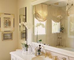 decorative window treatments bathroom contemporary with artwork