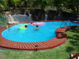 outdoor great small inground pools for modern backyard design