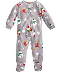 family pajamas 1 pc happy gnomes footed pajamas baby boys or