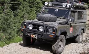 land rover 110 off road land rover defender 110 rig walk around overland bound