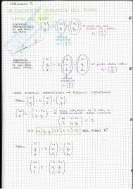 dispense algebra lineare riassunto esame geometria e algebra prof nelli libro