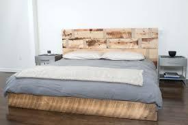 modern queen bedwood platform bed mid century platform bed