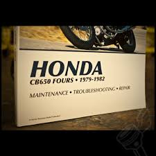 honda cb650 1979 1982 repair manual honda motorcycle repair manual