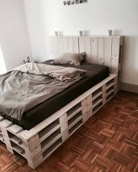 bed frames diy pallet bed frame instructions diy pallet bed