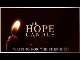 advent candle lighting order advent the hope candle youtube