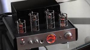 tube amp for home theater how to connect tv to audio amp stereo tube amplifier setup youtube