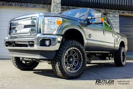 Ford F250 Truck Tires - ford f250 with 22in fuel hostage ii wheels exclusively from butler