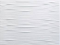 Floor And Decor Backsplash by Facade Waves Backsplash Sample Gloss White Contemporary Wall