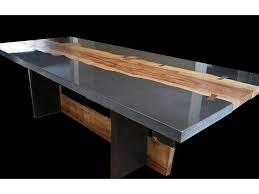diy concrete table top plain ideas concrete dining tables very attractive design diy