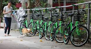 Bike To Work Week Presented by Messy Parking Sparks Call To Regulate Hong Kong U0027s First Bike Share