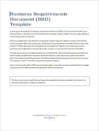 11 business requirements documents free u0026 premium creative