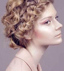 Hochsteckfrisurenen F Lockiges Haar by Hochsteckfrisuren Kurze Lockiges Haar Kurzhaarfrisuren Bilder