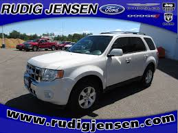 Ford Escape Limited - rudig jensen ford inc vehicles for sale in new lisbon wi 53950