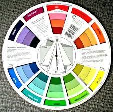 color mood chart color wheel moods kzio co