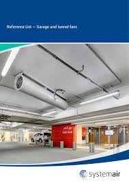 garage and tunnel fans references systemair pdf catalogue