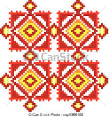 ukraine pattern vector ukraine ethnic pattern seamless embroidered good like vector