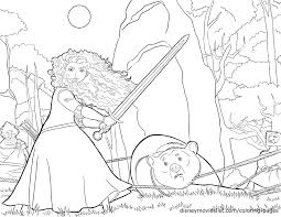 brave coloring pages disneys brave coloring pages sheet free