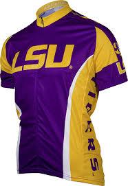amazon com ncaa lsu adrenaline promotions cycling jersey lsu