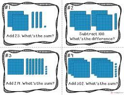 place value to 999 hundreds tens u0026 ones base ten blocks