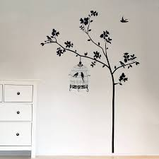 wall designs bird wall amazing tree wall decals with