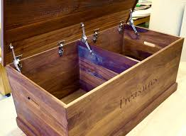create a bespoke wooden toy box for your children