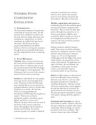 homeowners guide to natural stone countertop installation