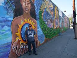 Chicano Park Murals Restoration by A Chicano Art Collective Needs Help Bringing This Massive Highland