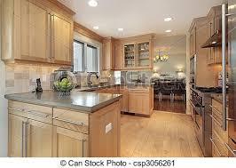 Cuisine Lambris - bois chêne lambris cuisine chêne bois maison luxe