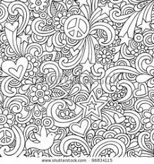 hard pattern colouring pages free download