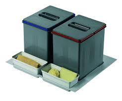 poubelle tri selectif cuisine poubelle de cuisine pour tiroir a tri sélectif