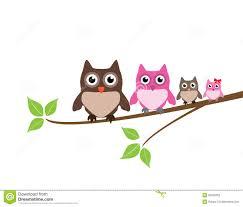 owl family clipart u2013 101 clip art