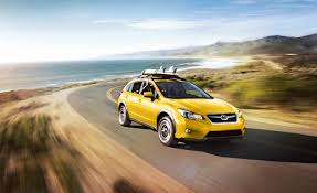 red subaru crosstrek subaru xv crosstrek special edition launched is really yellow