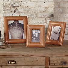 leather picture frames redlands leather photo frame by one world notonthehighstreet