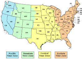 usa map with time zones and cities map of us states time zones usa time zone map with states cities