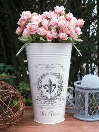 Tin Flower Vases Best 25 French Flowers Ideas On Pinterest Purple In French