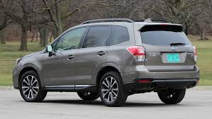 subaru forester touring what grownups drive fast 2017 subaru forester 2 0xt touring