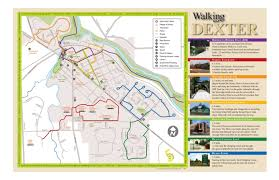 Map Of Ann Arbor Parks And Trails City Of Dexter Michigan