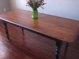 european paint finishes black farmhouse table