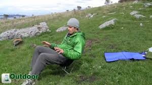 Back Pack Chair The Best Backpacking And Light Camping Chair Review Youtube