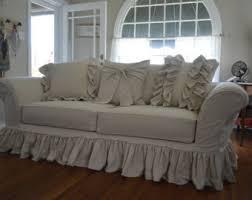custom slipcovers for sofas 100 ramie custom slipcovers made to measure ruffled